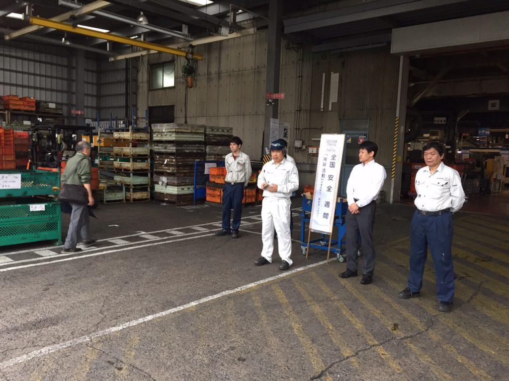 国産機械株式会社_全国安全週間活動を行いました