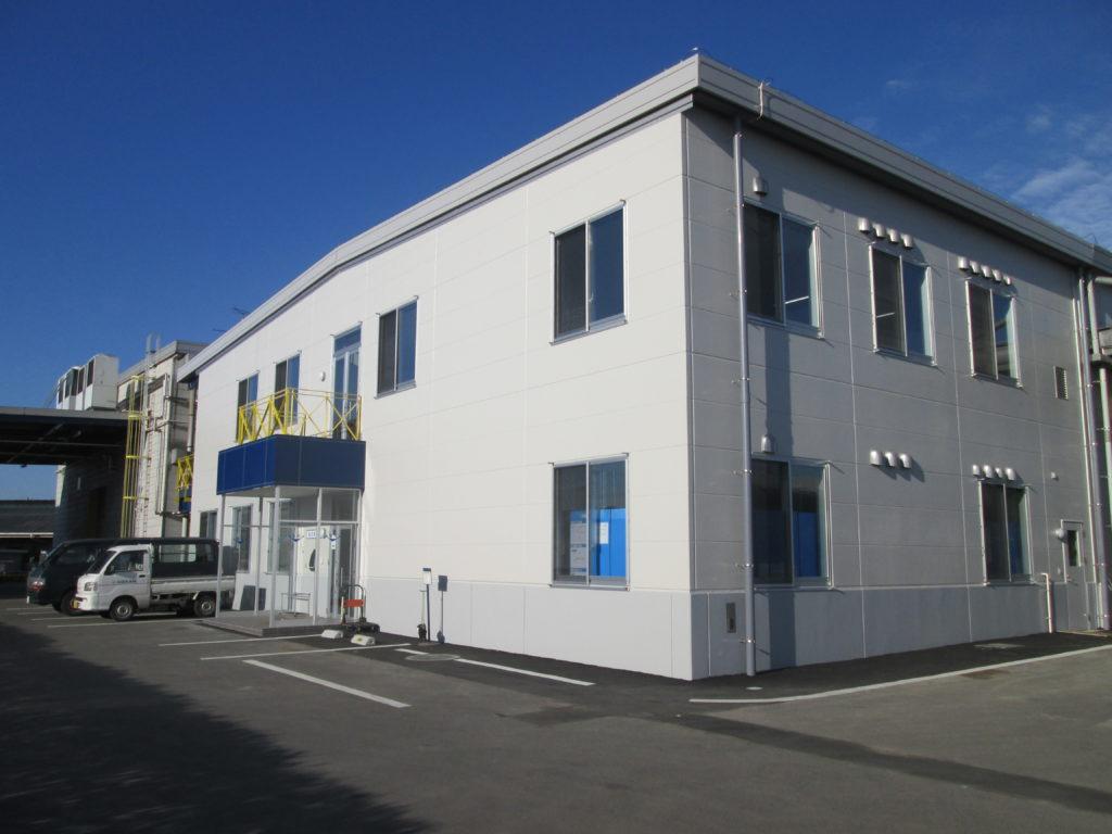 国産機械株式会社 製造事務所棟外観