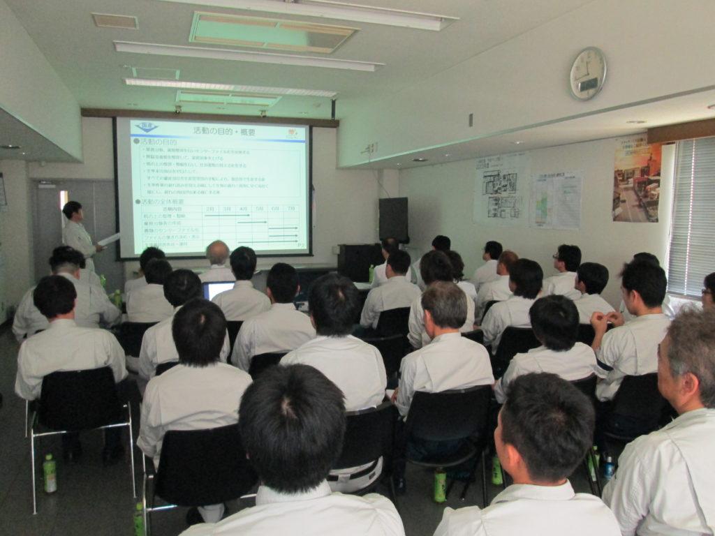 国産機械株式会社_「目で見る管理活動」発表会を行いました