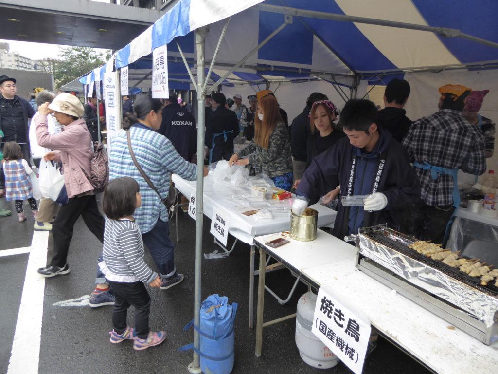 国産機械株式会社_日野自動車秋祭りに出店しました